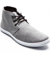botín deportivo gris para hombre color gris, talla 41