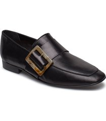 vienna black nappa loafers låga skor svart flattered