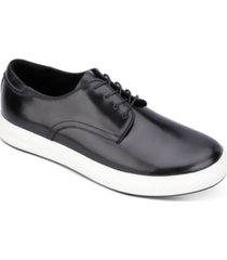 kenneth cole new york men's round-toe lace-up dress sneakers men's shoes
