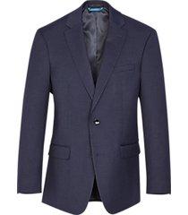 van heusen navy sharkskin cool flex slim fit suit separates coat