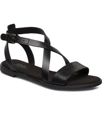 bay rosie shoes summer shoes flat sandals svart clarks
