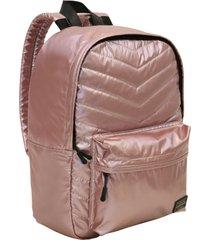 mochila space metallic rosado head