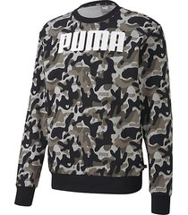 rebel camo logo crewneck sweatshirt