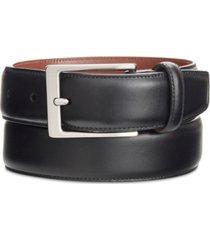 perry ellis men's big & tall portfolio amigo leather dress belt