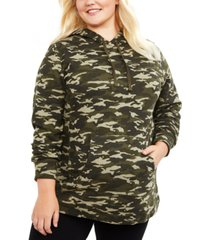 motherhood maternity plus size french terry hoodie