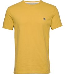ss dun-river crew t t-shirts short-sleeved gul timberland