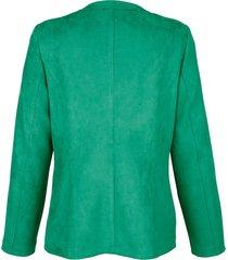 jacka i mockalook dress in grön