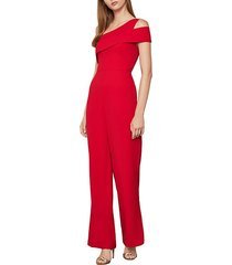 satin back crepe jumpsuit