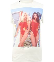 my brand baywatch babes t-shirt