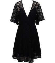 a-line lace midi dress