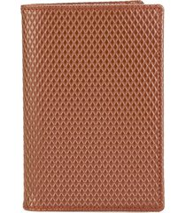 comme des garçons wallet luxury group billfold wallet - brown