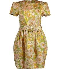 super eight brocade mini dress