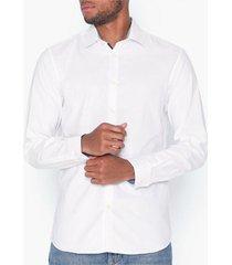 selected homme slhslimnew-mark shirt ls b noos skjortor bright white