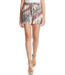 jessica simpson shira belted shorts
