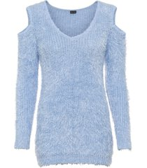 maglione con cut-out (viola) - bodyflirt