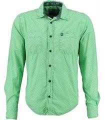 petrol groen overhemd