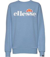 el agata sweatshirt sweat-shirt tröja blå ellesse