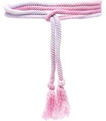 isabel marant tassel-detail belt - pink