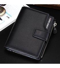 billetera super- billetera para hombres, vertical, con-negro