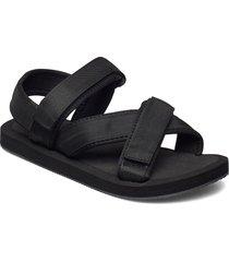 biadeni sandal shoes summer shoes flat sandals svart bianco