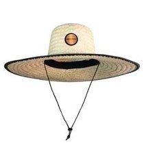 chapéu de palha clothis com amarração