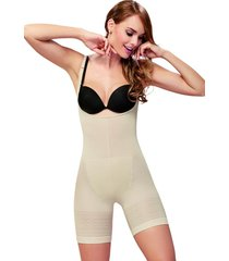 body short levanta cola nude cocoon