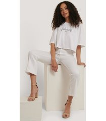 abrand t-shirt - white