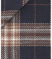 blazer da uomo su misura, vitale barberis canonico, lino seta cotone blu scuro, primavera estate | lanieri