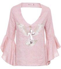 bata feminina espirito santo - rosa