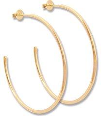 argola le diamond aberta dourada - tricae