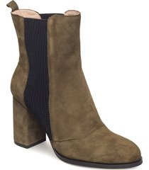 bich s shoes boots ankle boots ankle boots with heel grön shoe the bear