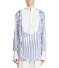 damien stripe tunic
