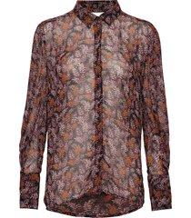 kathyiw blouse blus långärmad multi/mönstrad inwear