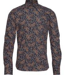8663 - iver 2 skjorta business multi/mönstrad sand