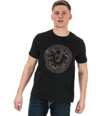mens branded logo t-shirt