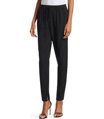 3.1 phillip lim women's suiting track pants - moss - size 0