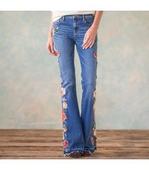 driftwood jeans av denim farrah garden party jeans