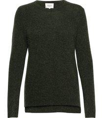 brook knit new o-neck gebreide trui groen second female