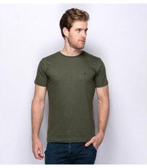 camiseta básica lisa teodoro moderna algodão nobre masculina - masculino