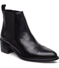 biacarol dress chelsea shoes boots ankle boots ankle boot - heel svart bianco