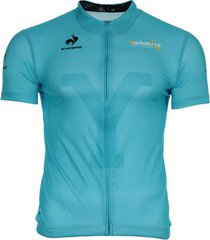 t-shirt korte mouw le coq sportif maillot bleu replica tour du yorkshire 2014