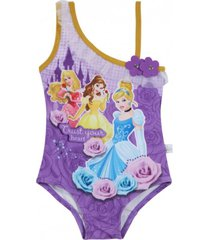 traje de baño morado princess