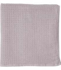 uchino waffle bath towel, size one size - purple