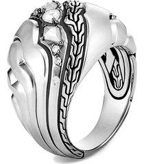 women's john hardy lahar diamond dome ring