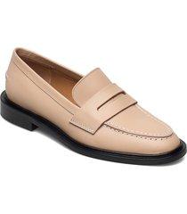 monti sand vacchetta loafers låga skor rosa atp atelier