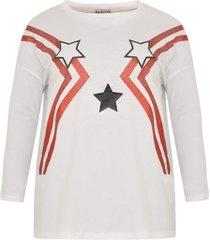 wijd shirt met sterren