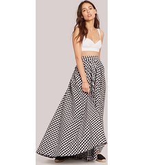 black and white the elinor skirt