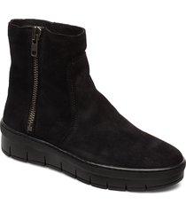 dakota wool shoes boots ankle boots ankle boot - flat svart pavement