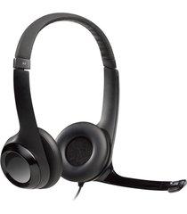 audífono h390 usb con microfono negro logitech