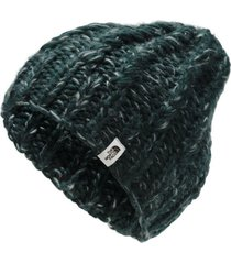 gorro chunky knit verde the north face